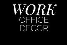 Work, Work, Work / The ideal office space design for that one day you realise your potential and start killing it.  Work, office, #bossbabe, office interiors, leather, boss, media, social, pr, stylish