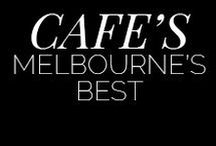 Melbourne Cafe's / Looking for somewhere new to eat in Melbourne this weekend? I've got you covered! From sweet treats and coffees and poached eggs and brunch...bon apetit!