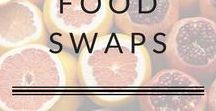 Swaps for Healthier Food