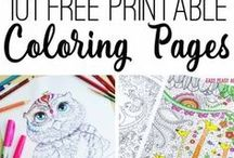 Printable Art For Kids / This is a collection of best printable art for kids you can find in our site and all the relevant educational sites we love.