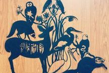 Art and illustration / by blackbird letterpress