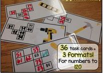 Math - Number / Math is one of my favourite subjects to teach my first graders.  I've dedicated this board to basic number skills,  place value centers and routines for teaching the Number Sense & Numeration strand in your primary mathematics classroom.