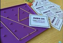 Math - Geometry / Geometry is one of my favourite strands of Math.  I have collected ideas and activities to help you teach about 2D and 3D shapes.  There are also many engaging math centers to practice geometry skills.  Be sure to check out these pins to support your Geometry strand in your primary mathematics classroom.