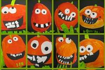 Hallowe'en in the Classroom / Celebrating Halloween in the classroom will be more fun with these Halloween crafts, games and activities.  You will also find lots of ideas for Halloween decorations for your classroom and investigating with pumpkins.  Lots of ideas to check out!
