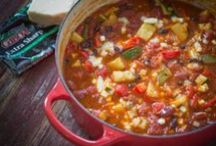 Soups, Stews & Chilis / Warm up! More recipes at http://www.cabotcheese.coop/pages/recipes/ / by Cabot Cheese