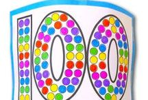 100's Day activities / Celebrating 100 day of schools is so much fun.  I have collected some of my favorite lessons, activities and projects that you can try with your students.  These are perfect for Kindergarten, First and Second Graders.