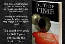 Out of Time and my other books / My books and things related to the stories and locations