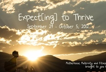 Expect[ing] to Thrive Event / Fitness tips for moms!