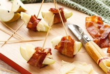 Bacon & Cheddar  / MMMMM. Bacon. With Cheddar. A match made in heaven. Find more Cabot recipes at http://www.cabotcheese.coop/pages/recipes/  / by Cabot Cheese