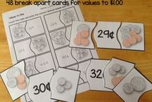 Math - Money / Teaching your students about money can be fun when using this collection of games, songs, lessons and center activities.  The resources collected here are suitable for teaching about US and Canadian money.