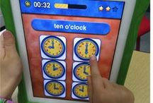 Technology - Educational Apps & More / Elementary classrooms are embracing technology and the students are more engaged because of it.  There are lots of ways to work on integrating technology into your Math and Language programs.  Here you will find lots of awesome apps for your tablets as well as engaging activities for your smartboard.