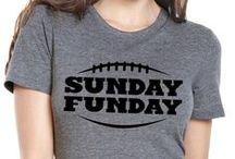 FOOTBALL SEASON! / Sunday Funday Football Shirts!