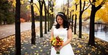 Weddings: Style / Meet these vibrant brides, all with a distinct style and floral arrangements to match.