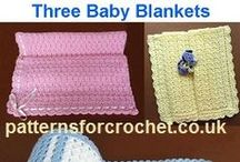 Free Baby Afghan & Blanket Crochet Patterns / Original baby afghan and Blanket FREE Crochet Patterns, written in USA and UK format. Visit:- www.patternsforcrochet.co.uk to get more patterns to print out. / by Patternsforcrochet (a free pattern website)