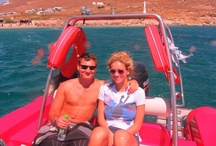 Romantic honeymoon or anniversary Boat trips in Mykonos! / Mykonos Island offers an idyllic setting for your honeymoon trip with a variety of secluded anchorages and beaches to choose from and explore during your charter. Rest assured that the professional crews aboard our rib will ensure honeymooners are provided with the perfect blend of top-notch as well as discreet service to suit your needs.