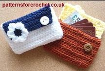 Crochet Bags & Purses / A selection of #Crochet bags & purses I like. Visit my website for my own originally designed FREE crochet patterns www.patternsforcrochet.co.uk / by Patternsforcrochet