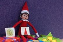 Elf on the Shelf 2013! / We're honoured to have Jane the Elf staying with us this December! #elfontheshelf