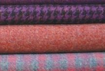 Tweedy Delights / A homage to our fabulous, versatile and hard wearing pure wool material.