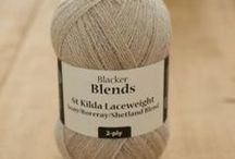 Yarn and Tops / My favourite wool. Balls, skeins, tops / roving, fleeces etc.
