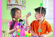 Motor Skills / A collection of crafts, products and activities to support motor skill development!