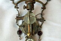 Steampunk & Outsider Art / Assemblages & found object art (Joseph Cornell, Louis Nevelson...) / by Peg Coogan
