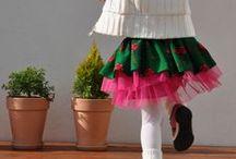 Folk TUTU by NinuMilu / Folk tutu skirt by NinuMilu