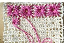 CROCHET + KNIT world / stiches, patterns, motives, creations
