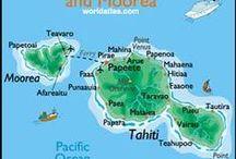tahiti- moorea / photo de la vie a moorea ou tahiti