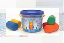 Aromatherapy Play Dough / Play dough with organic essential oils