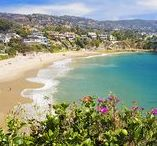Calif. Beaches / If all you need are palm trees and an ocean breeze, this California Dreamin' beach board is for you. Inspirational photos from the most popular beaches to some secret hideaways that will help you enjoy an endless summer.