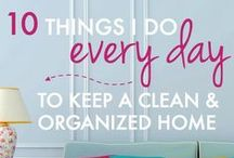 Home Organization & Management / Ideas & creative solutions for organizing and managing your home.