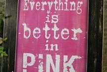 Pink, pink, pink <3