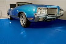 Cool Cars on Cool Garage Floors / Some of our favorite pics of hot cars on awesome #GarageFlooring . #GarageFloor