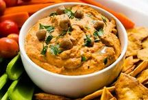 Sauces & Dip Recipes / Great dips for parties or snacking.  And sauce recipes that will make any dish better.