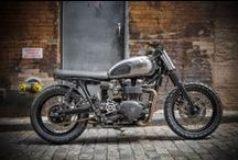 Motorcycles / Mostly classic and cafe racer bikes