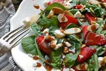 Salad Recipes / green salads, pasta salads, bean salads, and basically any type of salad recipe you can think of!
