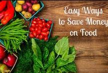 Saving Money / Creative Money Saving Ideas - making products ourselves, stocking the right products in the pantry or freezer, and other money saving tips