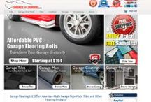 Evolution of Garage Flooring LLC / #Websites have to change over time. Our #GarageFlooring company is no exception. Take a look at the major changes --visually-- over the past two years