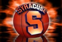 SYRACUSE BASKETBALL / LET'S GO ORANGE / by MaryAnne Rether