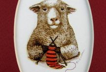 HAVE YOU ANY WOOL? / Lambs & Sheep / by MaryAnne Rether