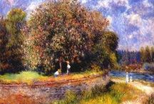 Pierre-Auguste Renoir / Pierre-Auguste Renoir (1841-1919) was a French artist who was a leading painter in the development of the Impressionist style.