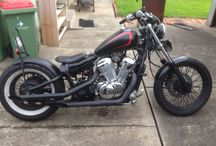 Bike projects / This is a photo log of my various motorbike builds.
