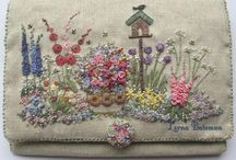 EMBROIDERIES / Beautiful Handywork / by MaryAnne Rether
