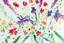 Floral Art / View artwork by international artist Andrea de Kerpely-Zak. She has painted over 40 years and has collections around the world including two works commissioned for Pope John Paul II.