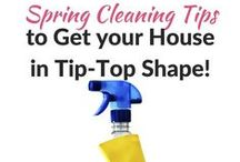 Cleaning Tips / How do I clean that? Find the answer here! Plus non-toxic & natural cleaners options as well.