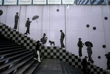 STREET & WALL ART / Unbelievable Works Of Art / by MaryAnne Rether