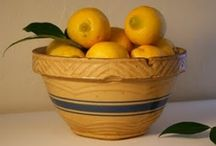 YELLOWWARE / Ironstone Pottery Made From A Yellowish Clay / by MaryAnne Rether