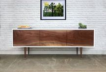 Our work / Beautiful handcrafted furniture inspired by Scandinavian and Mid Century Modern Design. Every piece is made in solid wood with almost obsessive attention to detail. Entirely made in the USA with local materials and supporting American labor.