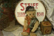 TEDDY BEARS GALORE / New & Old Teddy Bears / by MaryAnne Rether