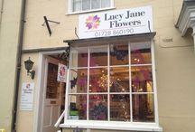 Lucy Jane Flowers / 6, High Street Debenham Stwomarket Suffolk IP14 6QJ